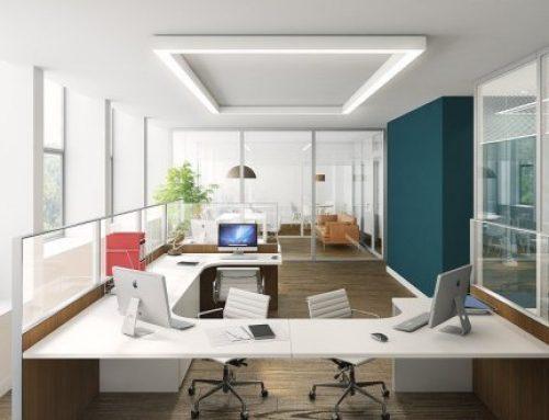Interiorismo en la productividad laboral empresarial